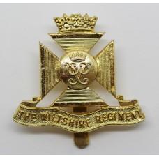 Wiltshire Regiment Anodised (Staybrite) Cap Badge (Prince Philip Cypher)