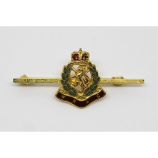 Women's Royal Army Corps (W.R.A.C.) Enamelled Sweetheart Brooch -