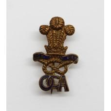 North Staffordshire Regiment Old Comrades Association Lapel Badge