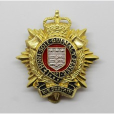 Royal Logistic Corps Cap Badge - Queen's Crown