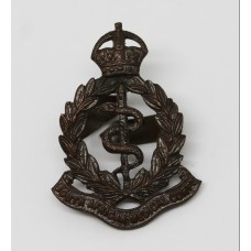 South African Medical Corps Officer's Service Dress Cap Badge - King's Crown