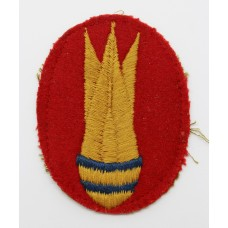 Royal Engineers Bomb Disposal Cloth Arm Badge
