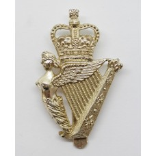 Ulster Defence Regiment (U.D.R.) Anodised (Staybrite) Cap Badge