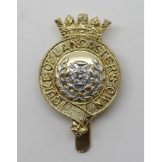 Duke of Lancaster's Own Yeomanry Anodised (Staybrite) Cap Badge