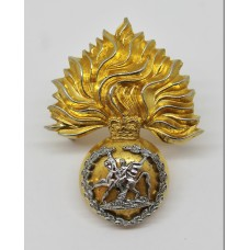 Royal Regiment of Fusiliers Bi-Metal Cap Badge - Queen's Crown