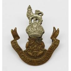 The Loyal Regiment Beret Badge - King's Crown