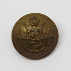Notts & Derby Regiment (Sherwood Foresters) Officer's Button - King's Crown (Large)