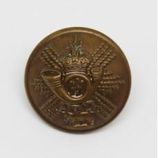 Highland Light Infantry (H.L.I.) Officer's Button - King's Crown (Large)