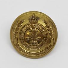 South Lancashire Regiment Officer's Button - King's Crown - (Large)
