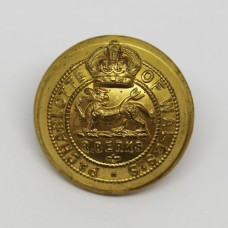Royal Berkshire Regiment Officer's Button - King's Crown (Large)
