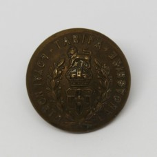 Loyal North Lancashire Regiment Officer's Button - King's Crown (Large)