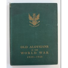 Book - Old Aloysians in the World War 1939 - 1945