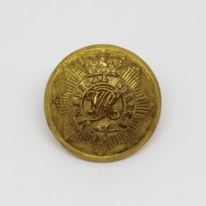 Victorian Medical Staff Officer's Gilt Button (Large)