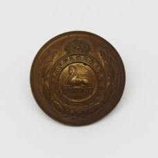 South Lancashire Regiment Officer's Button - King's Crown (Large)