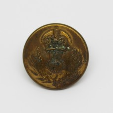 Queen's Own Cameron Highlanders Officers Button - Large