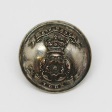 Victorian 6th West York Volunteers Officers Button (Large)