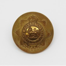 Worcestershire Regiment Officer's Button - King's Crown (Large)