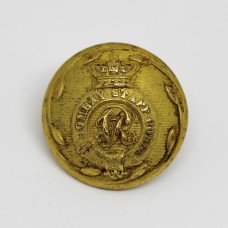 Victorian Indian Army Bombay Staff Corps Officer's Button (Large)