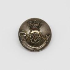 Victorian 5th West York Volunteers Officer's Button