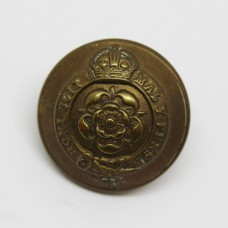 Royal Fusiliers Officer's Button - King's Crown (Large)