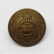 Devonshire Regiment Officer's Button - King's Crown (Large)