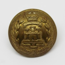 The Suffolk Regiment Officer's Button - King's Crown (Large)