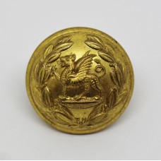 South Wales Borderers Officer's Button (Large)