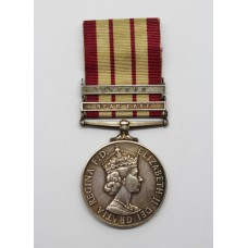 Naval General Service Medal (Clasps - Near East, Cyprus) - E.R. Dean, Stwd. Royal Navy