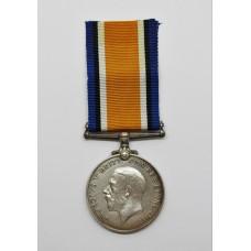 WW1 British War Medal - Pte. J.H. Barnes, Royal Fusiliers