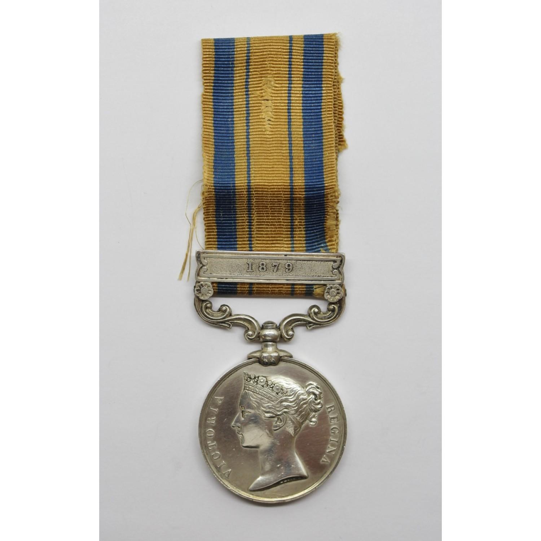 South Africa 1877-79 (Zulu War) Medal (Clasp - 1879) - Pte  J