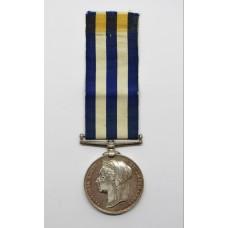 Egypt Medal 1882 (No Clasp) - M. Jones., Lamptr., Royal Navy, H.M.S. Serapis