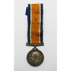 WW1 British War Medal - Pte. A. Poole, Machine Gun Corps