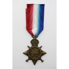 WW1 1914-15 Star - Pte. J. Baxandall, Cameron Highlanders