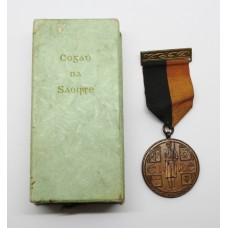 Eire General Service Medal 1917-21 (Black and Tan Medal) in Box of Issue - Unnamed