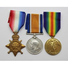 WW1 1914-15 Star Medal Trio - Pte. F.W. Know, Grenadier Guards