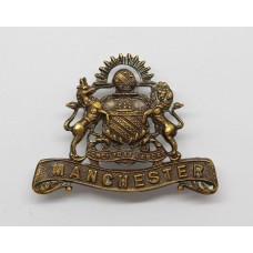 Manchester Regiment Officer's Service Dress Collar Badge