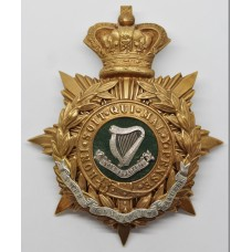 Victorian Connaught Rangers Officer's Helmet Plate