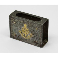 The Royal Sussex Regiment Matchbox Sleeve / Case