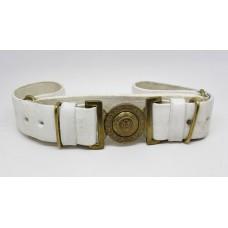 Scots Guards Buff Belt & Buckle