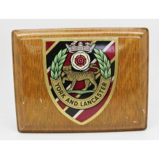 York and Lancaster Regiment in Box