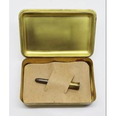 WW1 1914 Princess Mary Christmas Gift Tin with Bullet Pencil