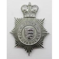Essex Constabulary Helmet Plate - Queen's Crown