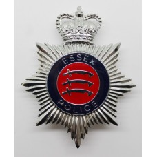 Essex Police Enamelled Helmet Plate - Queen's Crown