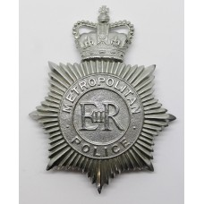 Metropolitan Police Helmet Plate - Queen's Crown