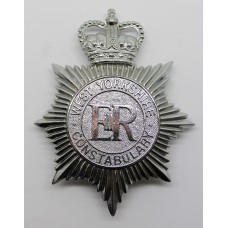 West Yorkshire Constabulary Helmet Plate - Queen's Crown