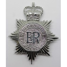 Bedfordshire Police Helmet Plate - Queen's Crown