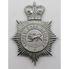 Surrey Constabulary Helmet Plate - Queen's Crown