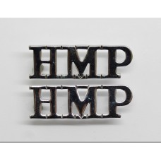 Pair of Prison Service (H.M.P.) Shoulder Titles