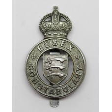 Essex Constabulary Cap Badge - King's Crown
