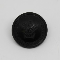 York and North East Yorkshire Police Black Button (Large).